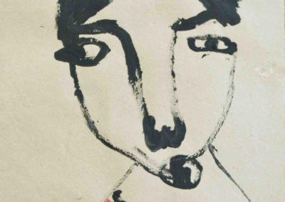 Face#11, AOC, 32X44cm, 2014