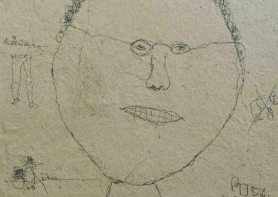 face#4, AOC, 32X44cm, 2014