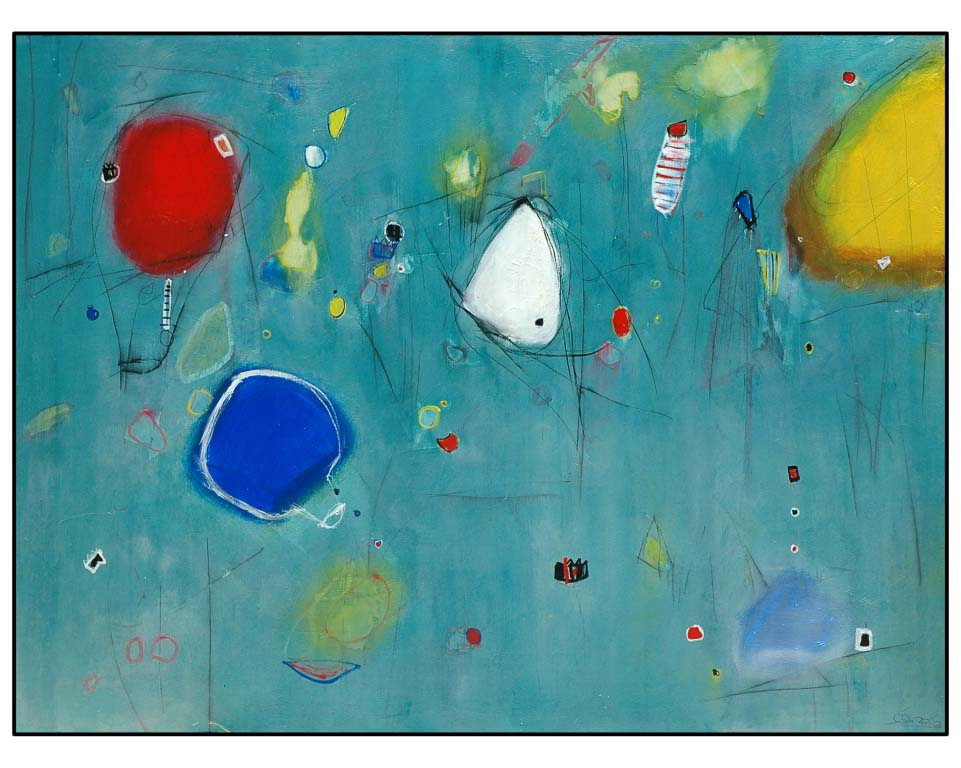the white mount, acrilik on canvas, 200x150cm 2008